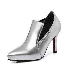 Dámské Koženka Jehlový podpatek Kotníkové boty obuv