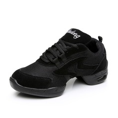 Women's Nubuck Sneakers Practice Dance Shoes