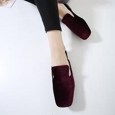De mujer Tacón plano Planos Encaje Solo correa Pantuflas con Otros zapatos