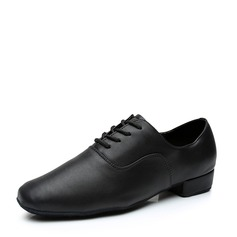 Hommes Similicuir Latin Modern Style Jazz Salle de bal Fête Tango avec Dentelle Chaussures de danse