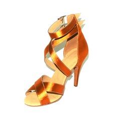Donna Raso Tacchi Sandalo Latino con Listino alla caviglia Fibbia Scarpe da ballo