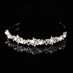 Charming Alloy/Freshwater Pearl Headbands
