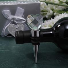 Klassisk Hjärtan Form Flaskproppar med Kristall