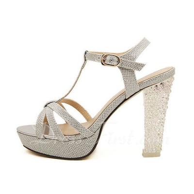 658c41ba289 Zapatos Tacon Grueso Plateados ugtrepsol.es
